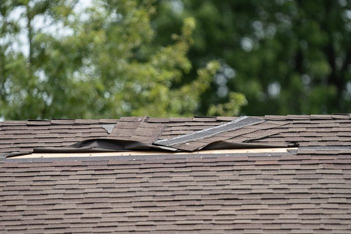 Repair Blown Off Shingles