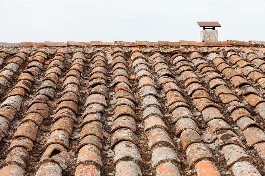 Damaged Roof Tile