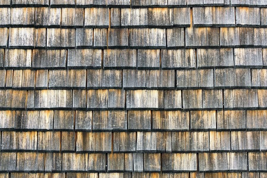 Untreated Cedar Shake Roof